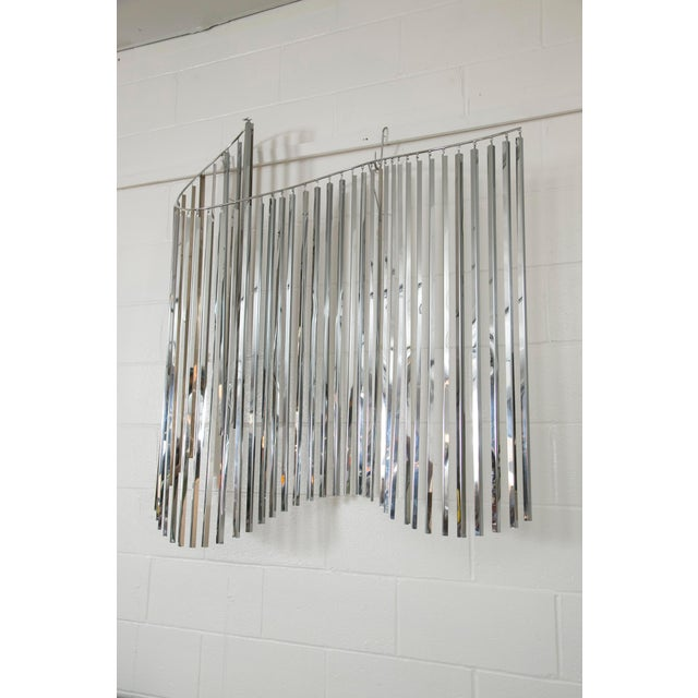 Curtis Jere Silver Kinetic Wall Hanging - Image 3 of 9