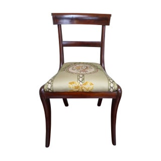 Antique Regency Style Dining Chairs - Set of 12