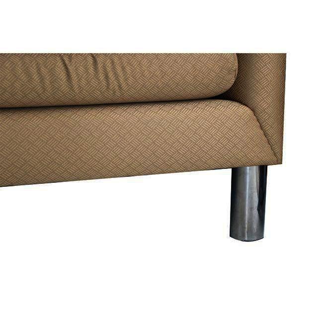 Mid Century Modern Chrome Leg Sofa - Image 4 of 9
