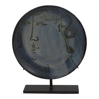 Ceramic Dish by Jacques Innocenti