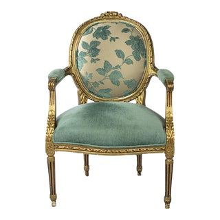 Open Armchair Louis XVI