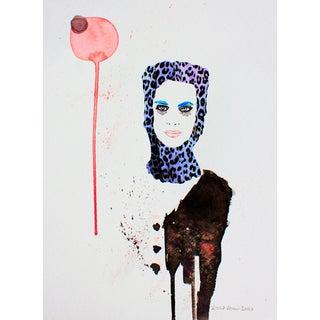 'Bubbles' Fashion Illustration Print