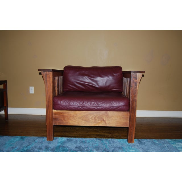 Image of Mission Leather Chair