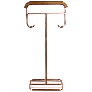 Modernist German Copper Plated Valet