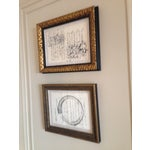"Image of John Mayberry Calligraphy Framed - ""Circle Mark"""