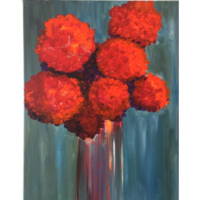 """All About Red"" Painting - Image 2 of 3"