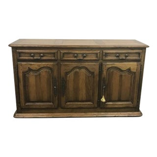 Traditional Wood Buffet