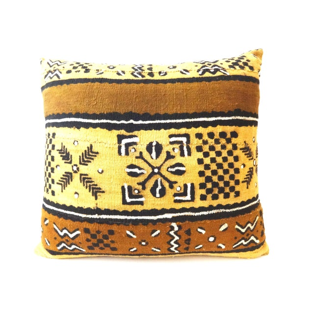 African Mud Cloth Pillow - Image 1 of 8