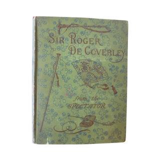 Antique 'Sir Roger De Coverly' Book