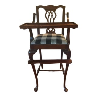 Antique Chippendale High Chair