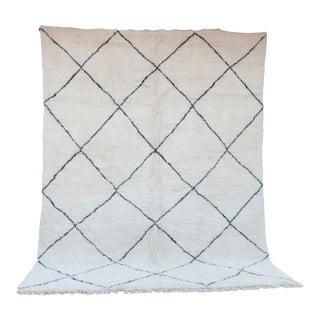 "Beni Ourain Moroccan Rug, 10'6"" x 13'7"" feet / 320 x 413 cm"