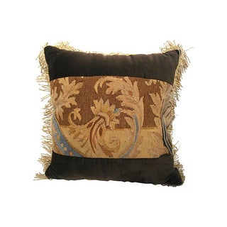 18th C French Aubusson Pillow