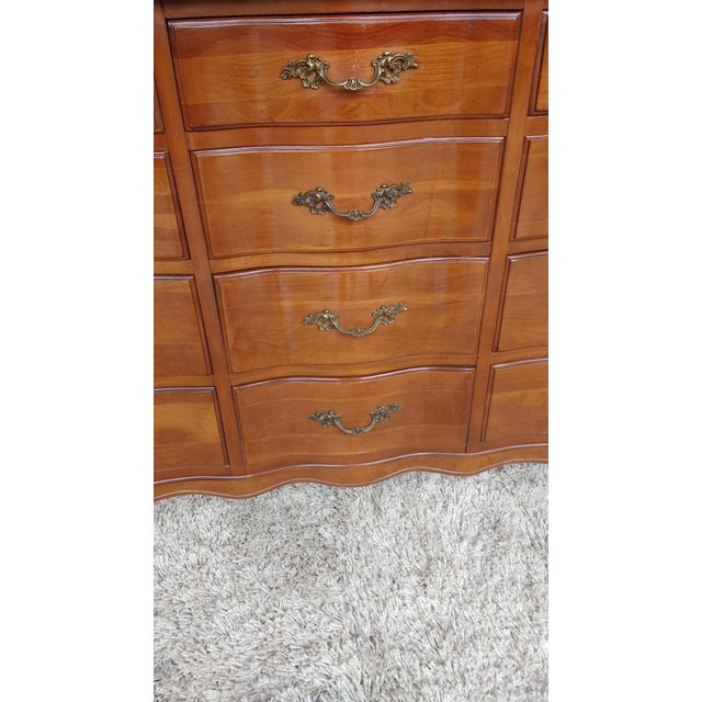 Cherrywood French Provicial Chest of Drawers - Image 8 of 8