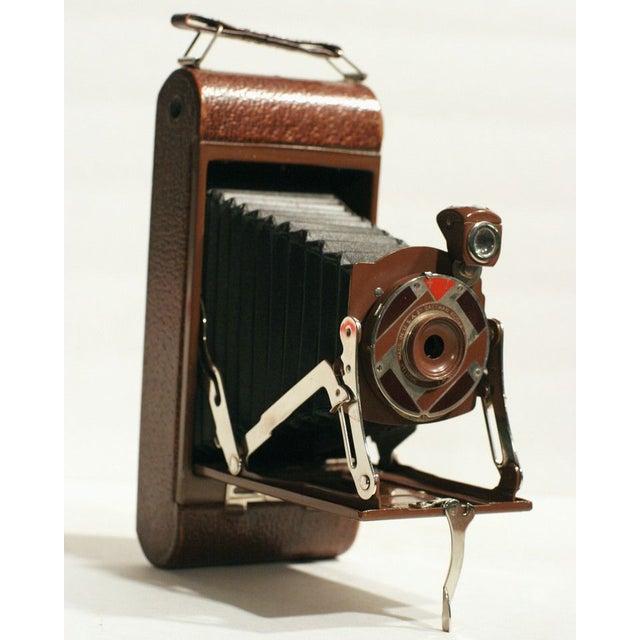 "Rare Walter Dorwin Teague Kodak ""1A Gift"" Camera - Image 3 of 5"