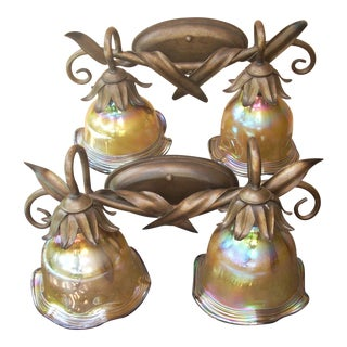 Double Light Wall Sconces - A Pair