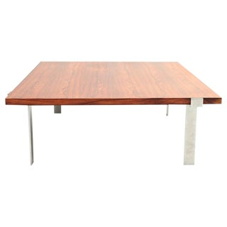 Danish, Mid-Century Modern Rosewood Coffee Table by Jørgen Høy