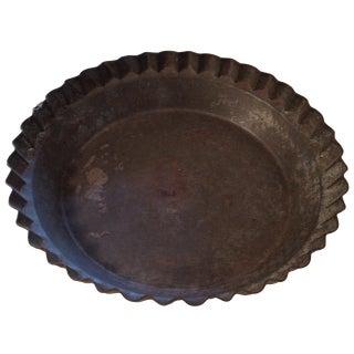 Vintage Tin Pie Plate
