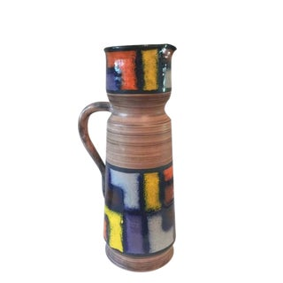 Modernist Fratelli Fanciullacci Mid-Century Ceramic Pitcher