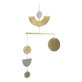 Brass Kinetic Mobile by Corie Humble