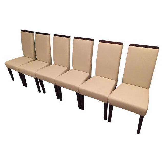 Contemporary Dining Chairs - Set of 6 - Image 1 of 5