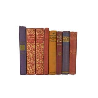 Various Vintage Decorative Books - Set of 8