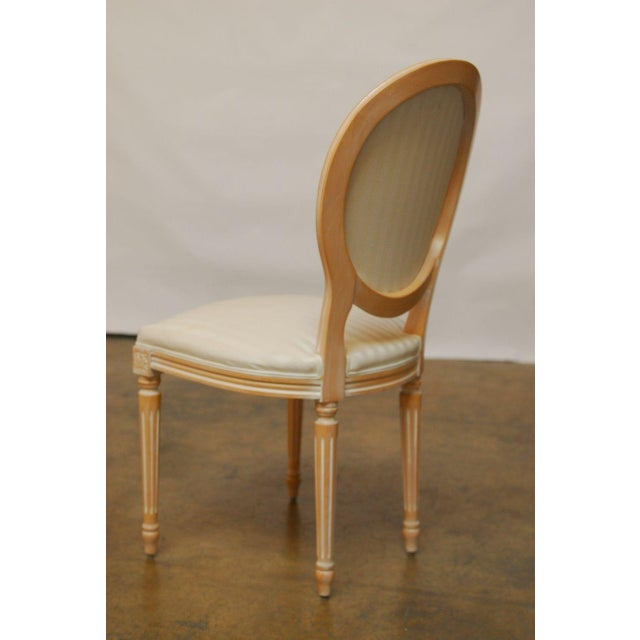 Louis XVI Dining Chairs - Set of 4 - Image 9 of 9