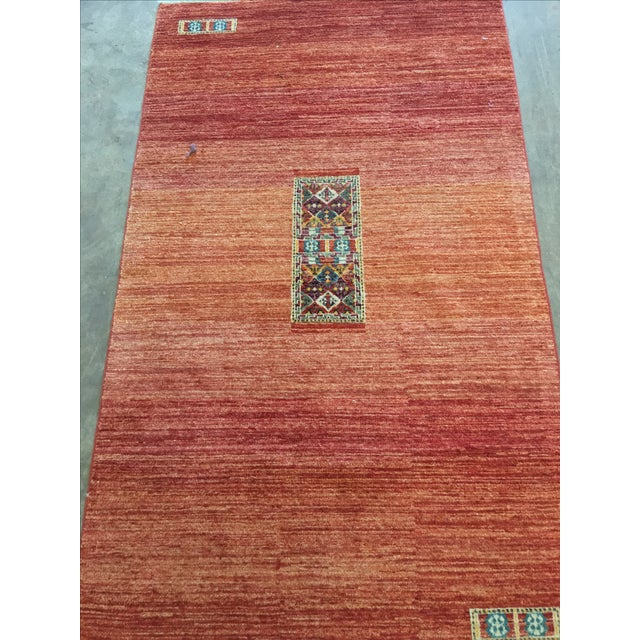"Gabeh Persian Rug - 3'5"" x 5'11"" - Image 4 of 11"