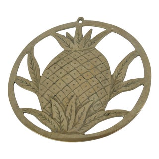 Vintage Pineapple Trivet