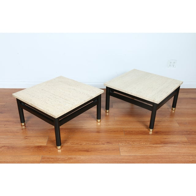 Lacquered Side Tables - A Pair - Image 9 of 11