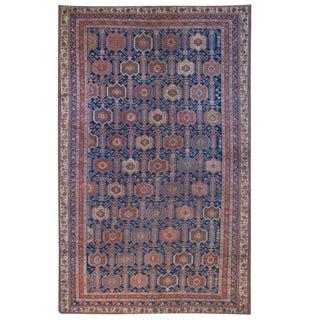 Antique Persian Afshan Carpet - 4′8″ × 7′6″