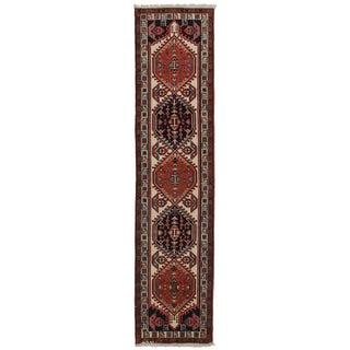 """Vintage Persian Ardebil Runner - 2'5"""" x 10'"""