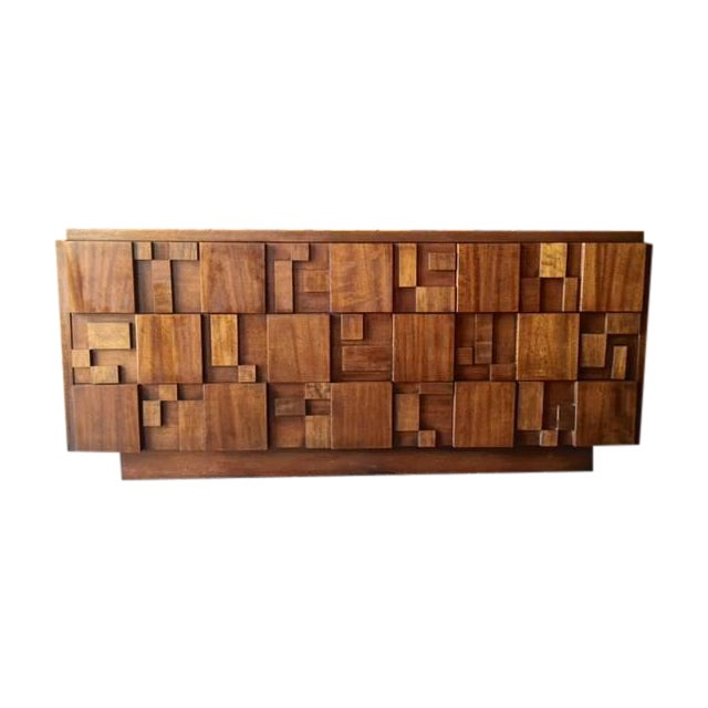 Image of Mid Century Brutalist Dresser by Lane