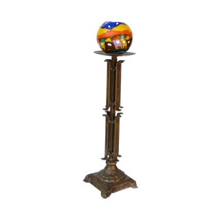 Metal Bronze Decorative Table Top Candle Holder