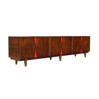 Modular Low Credenza by Johnson Furniture, 99""