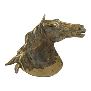 Horse Head Brass Dish