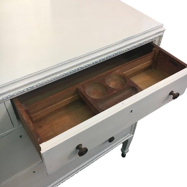 Vintage Hand Painted Dresser & Mirror - Image 4 of 9