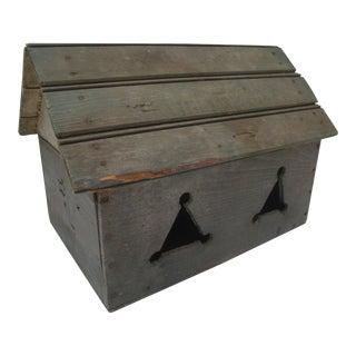 Vintage Handmade Folk Art Birdhouse