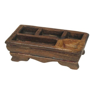 Vintage Betel Nut Wood Server