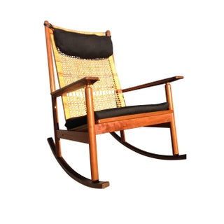 Danish Modern Rocking Chair by Hans Olsen