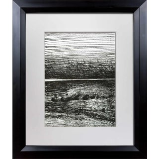 Henry Moore, Windswept Original Lithograph