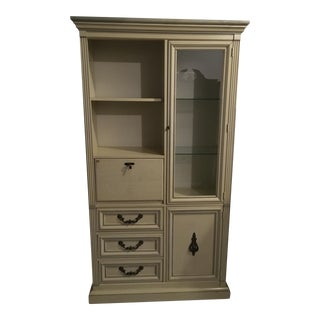 Lighted Secretary Display Cabinet