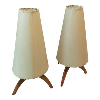 Heywood Wakefield Table Lamps - A Pair