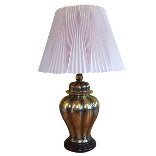 Brass Ginger Jar Lamp