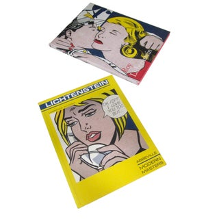 Lichtenstein Pop Art Books - Pair