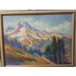 Image of Oregon Impressionist Oil Painting of Mt. Hood