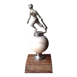 Mid Century Baseball Trophy