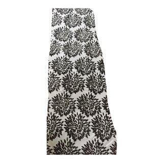 Velvet-Cut Flower Fabric - 10 Yards