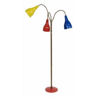 Italian Modern Triennale-Style Floor Lamp
