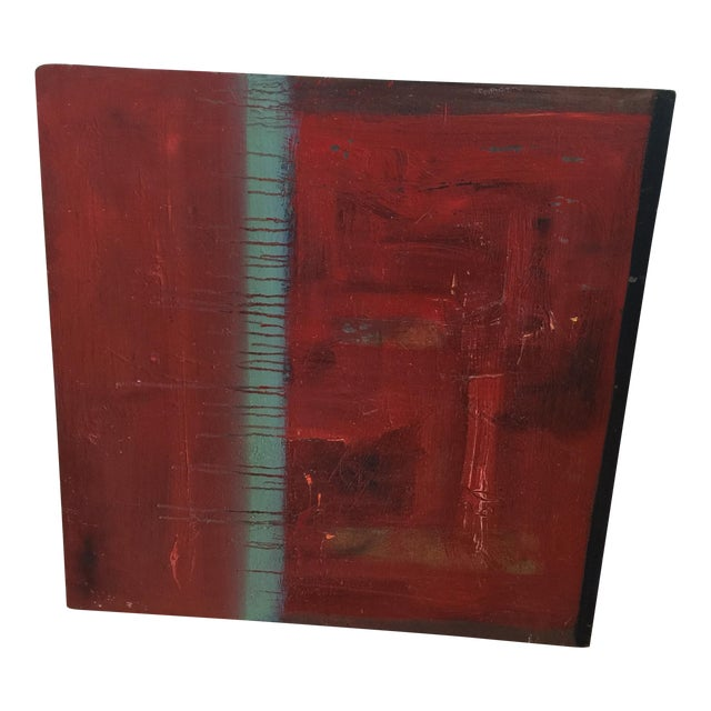 Red Abstract Painting by Trung Quo Tran - Image 6 of 6