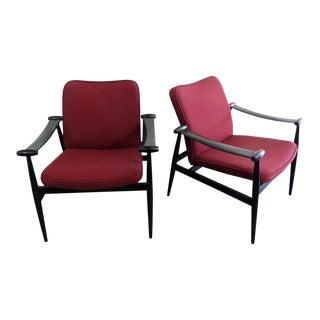 Finn Juhl Arm Chairs - A Pair